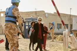 Doctor Who S10 - TX: 27/05/2017 - Episode: The Pyramid At The end Of The World (No. 7) - Picture Shows: Bill (PEARL MACKIE), The Doctor (PETER CAPALDI), Nardole (MATT LUCAS) - (C) BBC/BBC Worldwide - Photographer: Simon Ridgway
