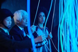 Doctor Who S10 - TX: 27/05/2017 - Episode: The Pyramid At The end Of The World (No. 7) - Picture Shows: Xiaolian (DAPHNE CHEUNG), Secretary General (TOGO IGAWA), Bill (PEARL MACKIE) - (C) BBC/BBC Worldwide - Photographer: Simon Ridgway
