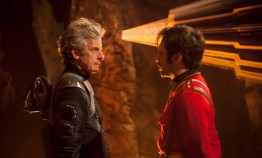 Doctor Who S10 - TX: 10/06/2017 - Episode: Empress of Mars (No. 9) - Picture Shows: The Doctor (PETER CAPALDI), Catchlove (FERDINAND KINGSLEY) - (C) BBC/BBC Worldwide - Photographer: Jon Hall