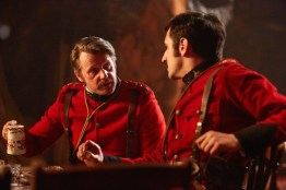 Doctor Who S10 - TX: 10/06/2017 - Episode: Empress of Mars (No. 9) - Picture Shows: Godsacre (ANTHONY CALF), Catchlove (FERDINAND KINGSLEY) - (C) BBC/BBC Worldwide - Photographer: Simon Ridgway