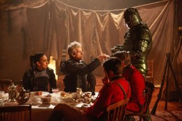 Doctor Who S10 - TX: 10/06/2017 - Episode: Empress of Mars (No. 9) - Picture Shows: Bill (PEARL MACKIE), The Doctor (PETER CAPALDI), Catchlove (FERDINAND KINGSLEY), Godsacre (ANTHONY CALF), Friday (RICHARD ASHTON) - (C) BBC/BBC Worldwide - Photographer: Simon Ridgway
