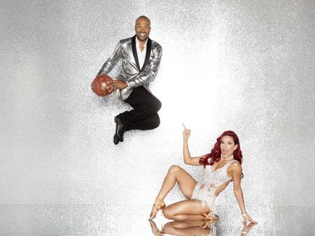 DEREK FISHER, SHARNA BURGESS